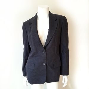 🔥Austin Reed Navy Blue Virgin Wool Blazer